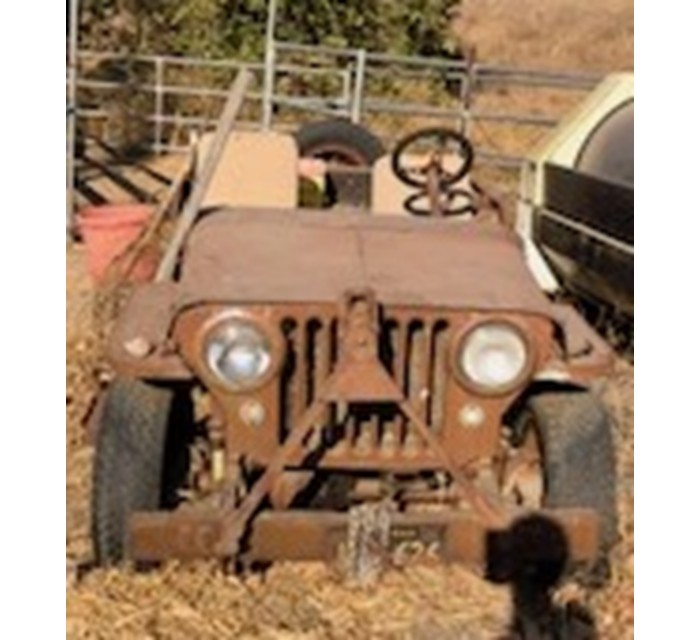 44 Willys Jeep For Parts all original